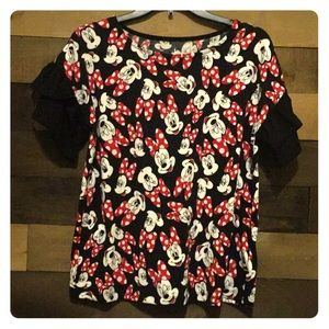 Disney Parks Minnie Mouse blouse